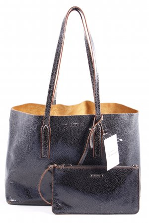 "Miu Miu Handtasche ""Shopping Bag Craquele Nero"""