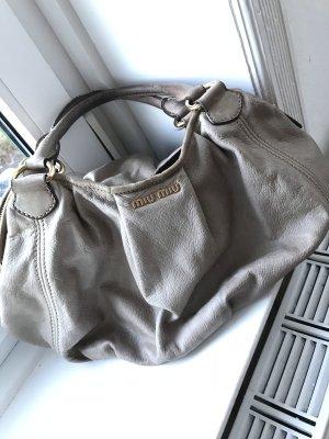 Miu Miu Handtasche Tote Bag in Taupe