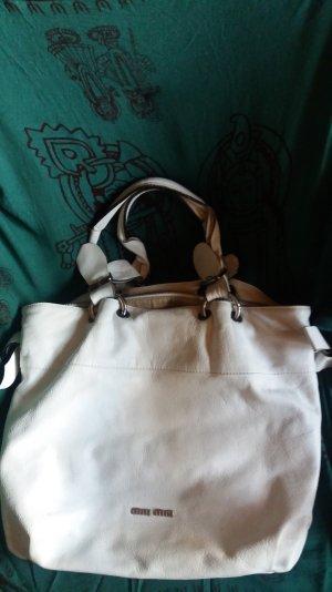 MIU MIU Handtasche weiß