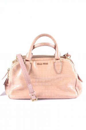 Miu Miu Carry Bag nude-gold-colored elegant