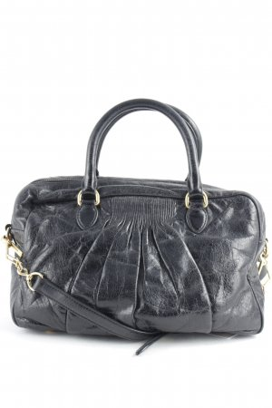 Miu Miu Carry Bag black-gold-colored elegant