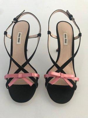 MIU MIU High Heel Riemchen Sandaletten Stiletto Original NEU !!!