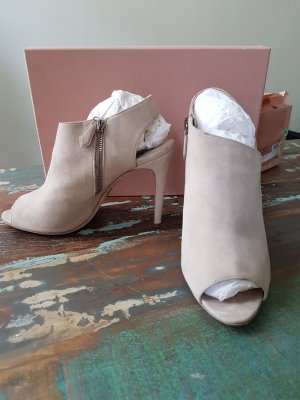 Miu Miu High Heel Sandal oatmeal-light grey