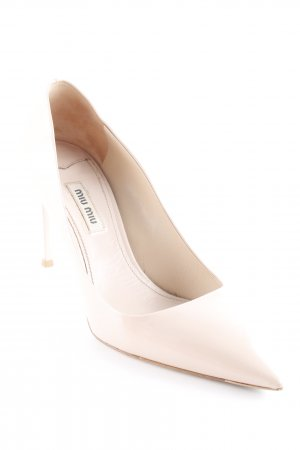 Miu Miu High Heels nude Business-Look