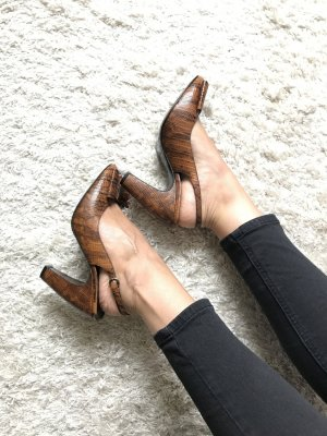 Miu Miu High Heels / Peeptoe Pumps