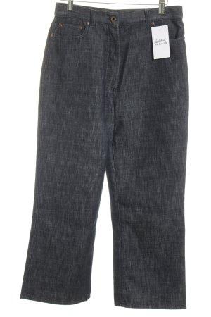 Miu Miu High Waist Jeans dunkelblau Casual-Look