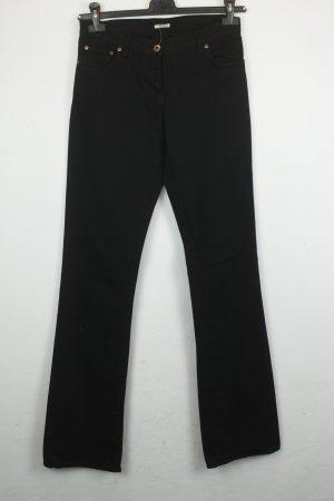 Miu Miu Jeans Gr. 28 schwarz Straight Leg