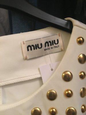 Miu Miu Kleid mit goldene Nieten , neu