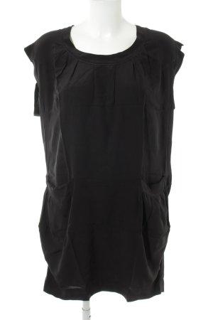 Miu Miu Kurzarmkleid schwarz Elegant