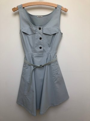 Miu Miu kurzes hellblaues Kleid
