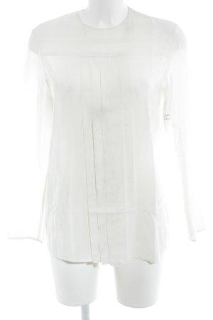 Miu Miu Camicetta a maniche lunghe bianco sporco elegante