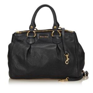 Miu Miu Leather 2 Way Bag