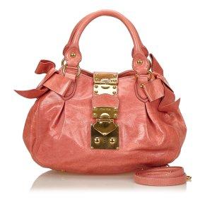 Miu Miu Leather Coffer