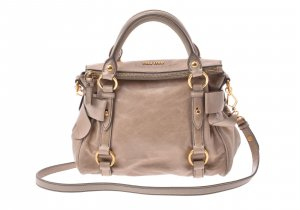 Miu Miu Leather Hand Bag