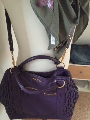 Miu Miu Crossbody bag brown violet-gold-colored