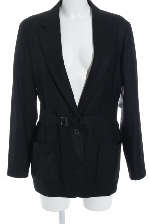 Miu Miu Long-Blazer schwarz Business-Look