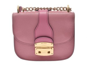 Miu Miu Madras Shoulder Bag