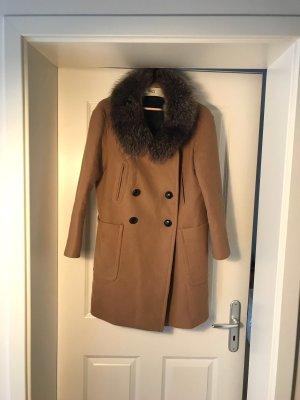 Miu Miu Abrigo de invierno multicolor Lana
