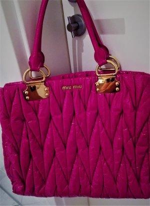 Miu Miu Matelasse Handtasche Magenta/PinkTasche Prada  Groß Np-899€
