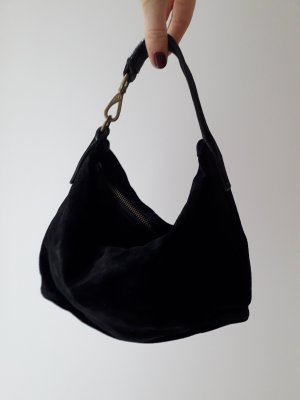Miu Miu Mini Bag black suede