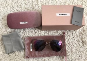 Miu Miu Aviator Glasses multicolored