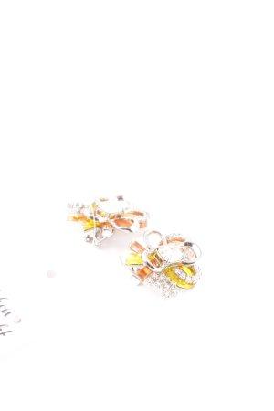Miu Miu Ohrclip mehrfarbig Glitzer-Optik