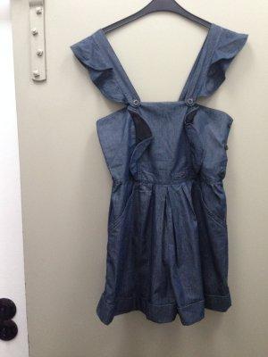 MIU MIU Onesie Latzhose Einteiler Jeans Denim blau Gr.26/ S