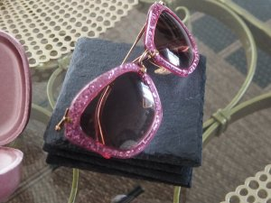 MIU MIU original Sonnenbrille, ausgefallen