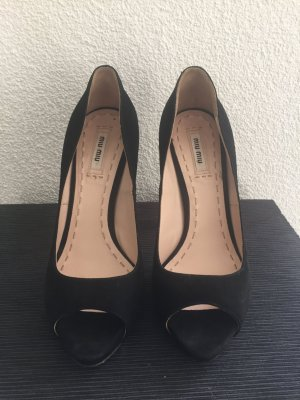 Miu Miu Peeptoe Pumps  Gr. 39 - TOP LUXUS