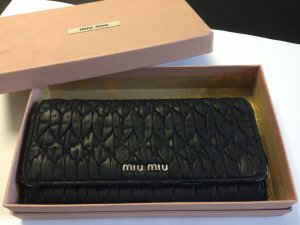 Miu Miu Wallet black leather
