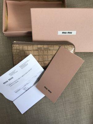 Miu Miu Portemonnaie mit Originalverpackung und Originalrechnung