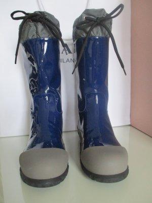 Miu Miu High Boots blue leather