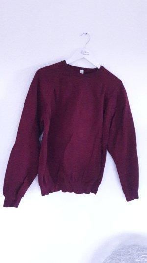 Miu Miu Pulli Pullover Jumper Strick Feinstrick Beere M