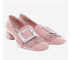 Miu Miu Pumps light pink leather