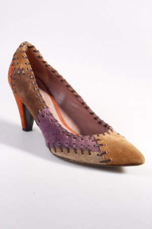 Miu Miu Pumps Patchwork-Optik