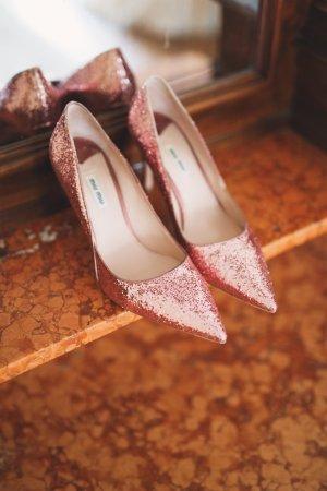 Miu Miu Pumps - rosa, Glitter