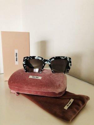 Miu Miu Butterfly Glasses black-light grey