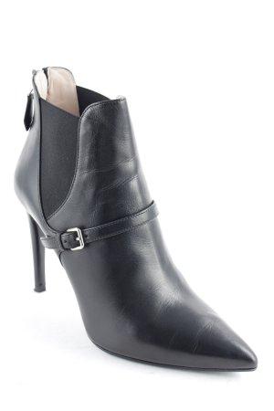 Miu Miu Reißverschluss-Stiefeletten schwarz Elegant