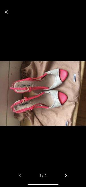 Miu Miu High Heel Sandal multicolored