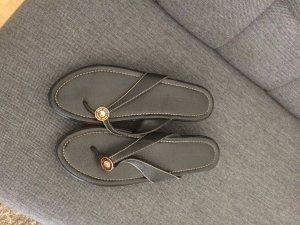 Miu Miu Sandalen Leder schwarz Größe 41,5