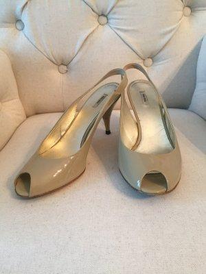 Miu Miu Schuhe Lackleder