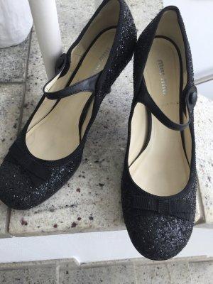 Miu Miu Schuhe mit Glitzer