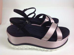 Miu Miu Schuhe rosa/schwarz Gr. 36,5