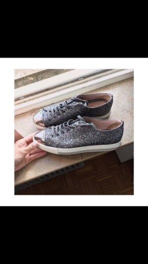 Miu Miu Sneaker stringata multicolore Pelle