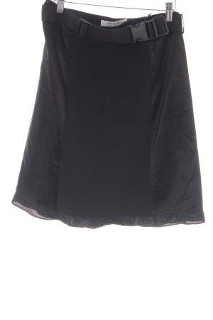 Miu Miu Zijden rok zwart elegant