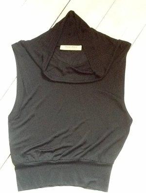 Miu Miu Cowl-Neck Shirt black viscose