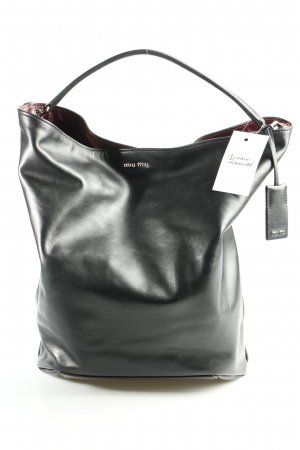 Miu Miu Shopper schwarz Casual-Look