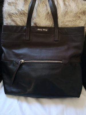 MIU MIU - Shopper Vitello Soft