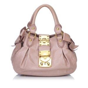 Miu Miu Side Bow Handbag