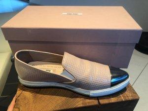 Miu Miu Slip-on Sneaker (in Lack Puder)